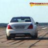 Mercedes S 65 AMG тест на военном аэродроме