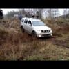 Nissan Pathfinder гряздный тест-драйв