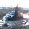 Тест Драйв Nissan Navara в грязи