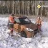 Тест-драйв KIA Soul по заснеженным дорогам