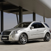 Фото Mercedes M-Klasse ML63 AMG Facelift 2008