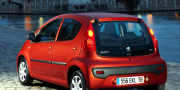 Фото Peugeot 107 5 door Facelift 2008