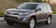 Фото Toyota Highlander Hybrid USA 2010