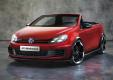 Фото Volkswagen Golf GTi Cabrio Concept 2011