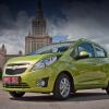 Гоняем новый Chevrolet Spark по городским пробкам