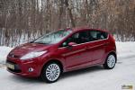 Тест-драйв Ford Fiesta — в объятиях гламура