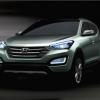 Компания Hyundai показала внешность нового Santa Fe