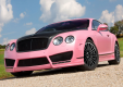 Фото Mansory Bentley Continental-GT Vitesse Rose 2009