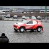 Тест-драйв Ё-мобиля на Красной Площади