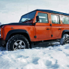 Тест-драйв Land Rover Defender 110 Fire: точно танк