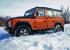 Тест-драйв Land Rover Defender 110 Fire: точно танк