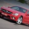 Mercedes-Benz SL 500 отбирает небо в обмен на удовольствие