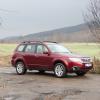 Тестируем новый «оппозитник» Boxer на Subaru Forester 2011