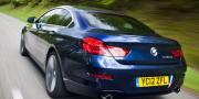 Фото BMW 6-Series 640d Gran Coupe F06 UK 2012