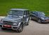 Едва замечаем Mercedes-Benz GLK за спиной обновлённого G-класса