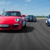 По бразильской системе/ Ездим на Porsche по недостроенной трассе в Шушарах