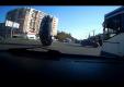 Ford Focus перевернулся на 180-градусов после наезда на провода