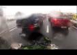 Ключ для идеального падения на дороге времени с мотоциклом