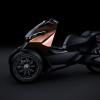 Наряду с атомобилем Peugeot Onyx в Париже будет выставлен и скутер подобного дизайна
