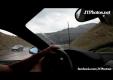 Водитель с лысой резиной на Ferrari F430 теряет контроль над авто в дождь