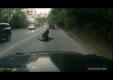 Вот что происходит, когда Вы засыпаете на мотоцикле