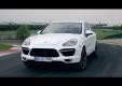 Новый Porsche Cayenne Turbo S 2013 на треке