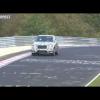 Прототип BMW X5 M 2015 на треке в Нюрбургринге