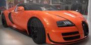 Рассмотрим Bugatti Veyron в гараже Джея Лено