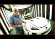 Телеведущий Джей Лено ездиет по миру на Lexus LFA с открытым верхом