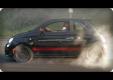 Джей Лено жжет резину на Fiat 500 Abarth