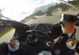 Канадский мотоциклист снял на видео свою поезду на скорости 300км/ч