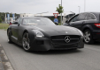 Неофициальное видео: Mercedes-Benz SLS AMG Black Series 2014