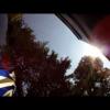Мотоциклист отвлекается от дороги и… въезжает в фургон