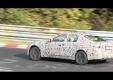 Новый спортивный седан Infiniti G нарезает круги вокруг Нюрбургрин под камерой