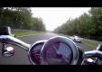 Пока Harley V-Rod ездит по кругу Yamaha R1 устанавливает рекорд