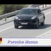 Новый внедорожник Porsche Macan красуется перед камерой