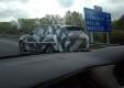 Странная колонна моделей Range Rover была замечена во Франции?