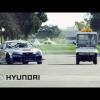 Rhys Millen HOONS его в старой штаб-квартире компании Hyundai