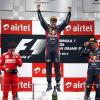 Себастьян Феттель завоевал ГранПри Индии