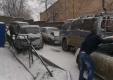 Стандартная зимняя авария во Владивостоке