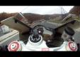 Сумасшедший байкер, на скоростях свыше 260 км/ч на Aprilia RSV4