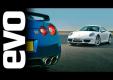 Тиф Ниделл сравнивает обновленный Porsche 911 Carrera и Nissan GT-R