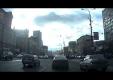 Водитель Lada Samara не справился с управлением на кольцевой Москвы