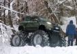 Монстр, созданный на базе нового Fiat Panda 4×4 2013