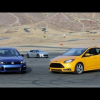 Ford Focus ST по сравнению с VW Golf R и Subaru BRZ
