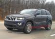 Jeep Grand Cherokee 2014 засветился с новыми фарами и радиаторной решеткой