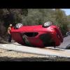 Калифорнийские водители учиться водить на горе Малхолланд драйв