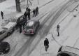 Скользкие зимние дороги — неизбежны аварии