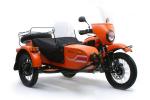 Ограниченный выпуск мотоцикла Урал Ямал с веслом
