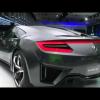 Acura представила переработанный NSX Concept II на автошоу в Детройте
